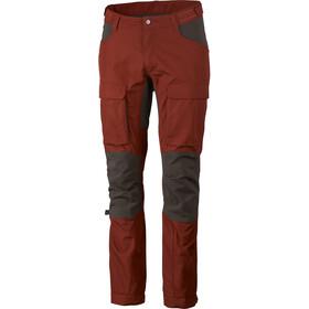 Lundhags Authentic II Pantalones Hombre, rojo/gris